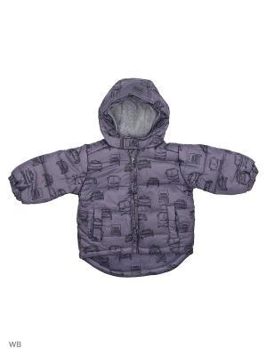 Куртка FOX. Цвет: серый