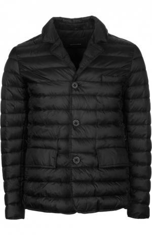 Пуховая куртка с отложным воротником [C]Studio. Цвет: черный