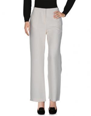 Повседневные брюки CÉLINE. Цвет: слоновая кость