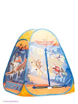 Игровая палатка Играем вместе. Цвет: оранжевый, синий