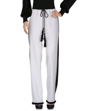 Повседневные брюки AKEP. Цвет: белый