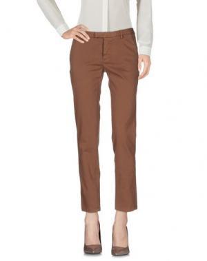 Повседневные брюки ..,MERCI. Цвет: коричневый