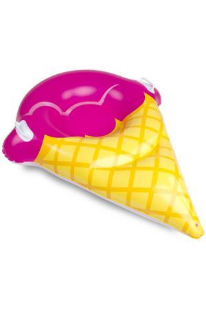 Тюбинг надувной BIGMOUTH. Цвет: розовый
