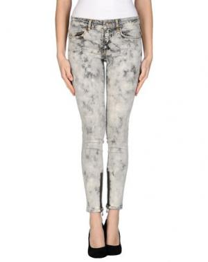 Джинсовые брюки SLY010. Цвет: серый