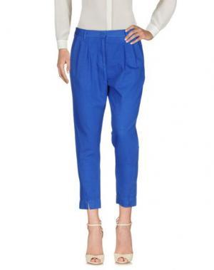 Повседневные брюки ATTIC AND BARN. Цвет: синий