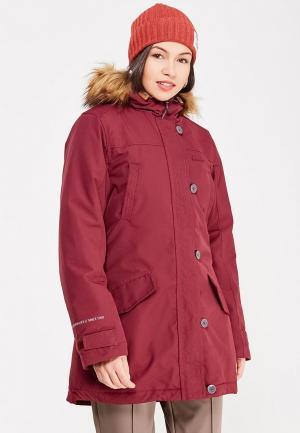 Куртка утепленная Rukka. Цвет: бордовый