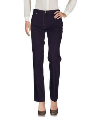 Повседневные брюки KEN BARRELL. Цвет: фиолетовый