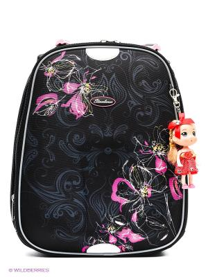 Рюкзак STERNBAUER. Цвет: черный, розовый, серый