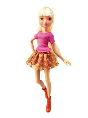 Кукла Winx Club Городская магия Stella. Цвет: малиновый, светло-желтый