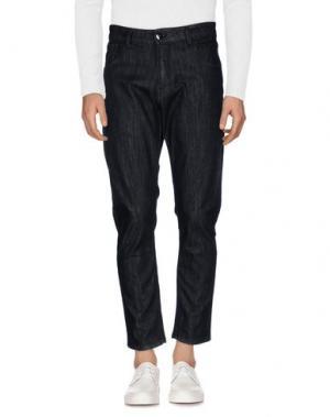 Джинсовые брюки QUINTESSENCE. Цвет: черный