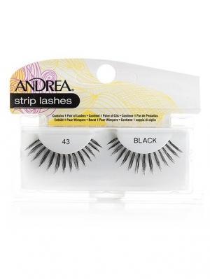 Andrea 24310 Mod Strip Lashes 43 Накладные ресницы Andrea.. Цвет: черный