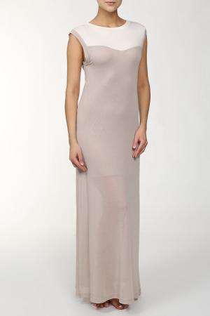 Платье MARC&ANDRE. Цвет: бежевый, белый