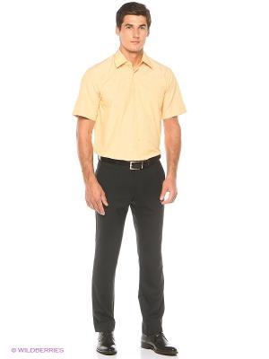 Рубашка Freeman. Цвет: персиковый