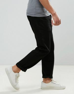 Dr Denim Черные прямые джинсы Ed. Цвет: черный