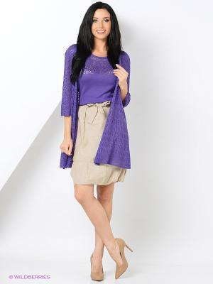 Кардиган Devur. Цвет: фиолетовый