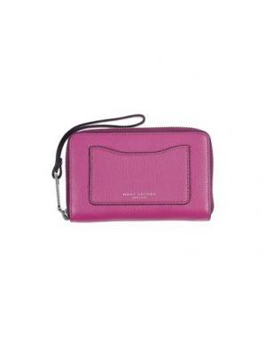 Бумажник MARC JACOBS. Цвет: пурпурный