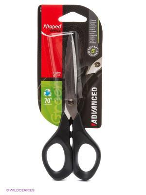 Ножницы, 17 см Maped. Цвет: черный