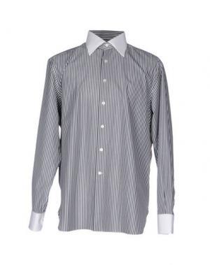 Pубашка STEFANO RICCI. Цвет: свинцово-серый