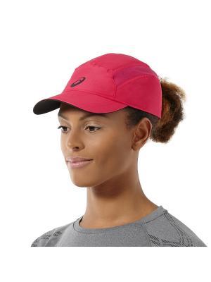 Бейсболка ASICS. Цвет: розовый, белый