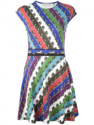 Платье Pinto Mary Katrantzou. Цвет: многоцветный