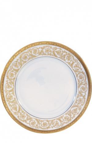 Тарелка обеденная Orangerie Gold Christofle. Цвет: бесцветный