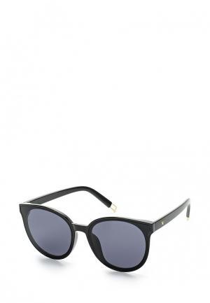 Очки солнцезащитные Taya. Цвет: черный