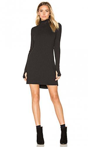 Платье Michael Lauren. Цвет: черный