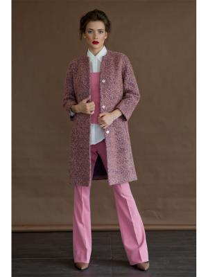 Пальто Levall. Цвет: розовый