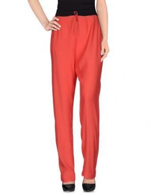 Повседневные брюки SISTE' S. Цвет: коралловый