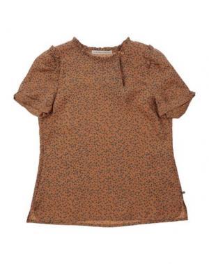 Блузка SCOTCH R'BELLE. Цвет: светло-коричневый