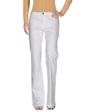 Повседневные брюки VIRNA DRÒ®. Цвет: белый