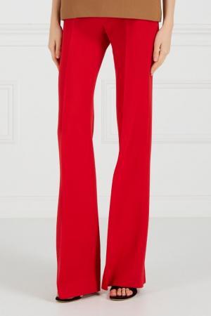 Красные широкие брюки Chapurin. Цвет: красный