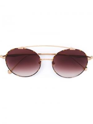 Солнцезащитные очки M3044 Matsuda. Цвет: металлический