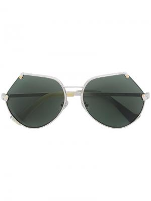 Солнцезащитные очки Embassy Grey Ant. Цвет: металлический
