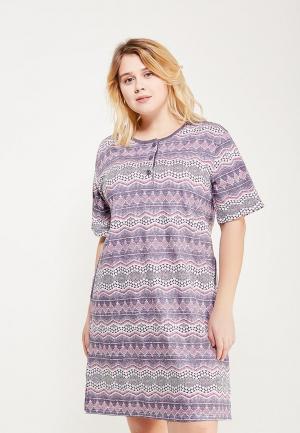 Платье домашнее Лори. Цвет: фиолетовый