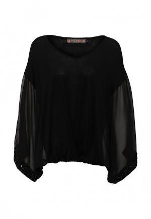 Блуза QED London. Цвет: черный