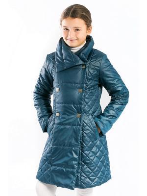 Пальто Моника Аксарт. Цвет: индиго