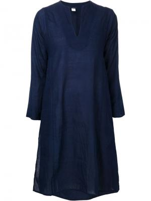 Платье-туника Aleppo Dosa. Цвет: синий