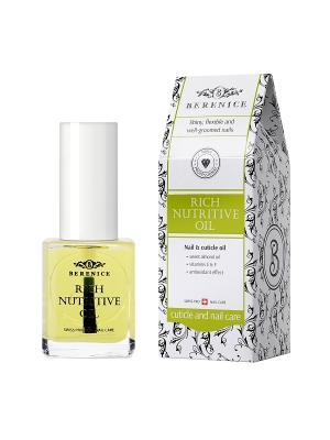 Масло для ногтей и кутикулы Питание увлажнение Rich nutritive oil 16 мл. BERENICE. Цвет: прозрачный