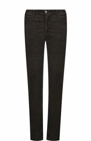 Джинсы прямого кроя Armani Jeans. Цвет: коричневый