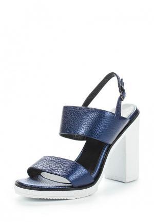 Босоножки Just Couture. Цвет: синий