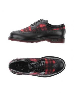 Обувь на шнурках CULT. Цвет: красный