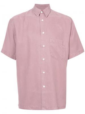 Рубашка Papi с короткими рукавами Second/Layer. Цвет: розовый и фиолетовый