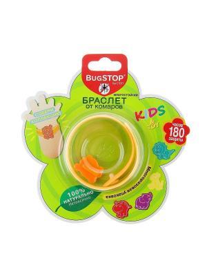 Bugstop Браслет от комаров Kids&Toy 1 шт.. Цвет: оранжевый