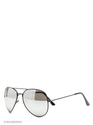 Солнцезащитные очки Kawaii Factory. Цвет: черный