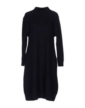 Короткое платье BLUE JAPAN. Цвет: темно-синий
