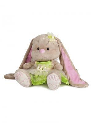 Зайка Лин Чай с Мелиссой, 25 см, в Коробке (JL-020-25) MAXITOYS. Цвет: бежевый, молочный, розовый, салатовый