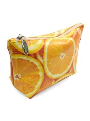 Косметичка BB1. Цвет: светло-желтый, оранжевый