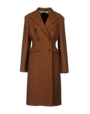 Пальто 6267. Цвет: коричневый