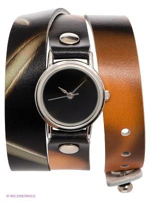 Часы DenisMart. Цвет: черный, коричневый